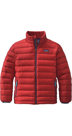 Patagonia Boys Down Sweater Ramble Red